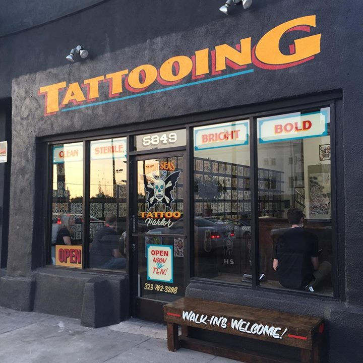 High seas tattoo parlor in west hollywood the tattoo for My tattoo shop hollywood