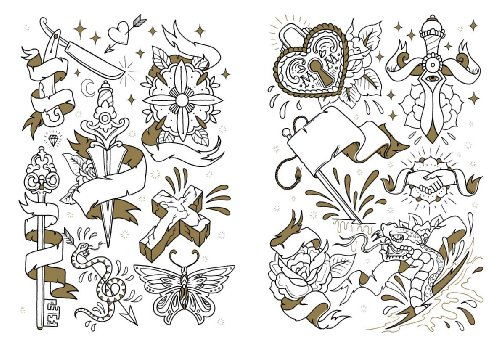 Tattoo Coloring Book - Tattoo Forum