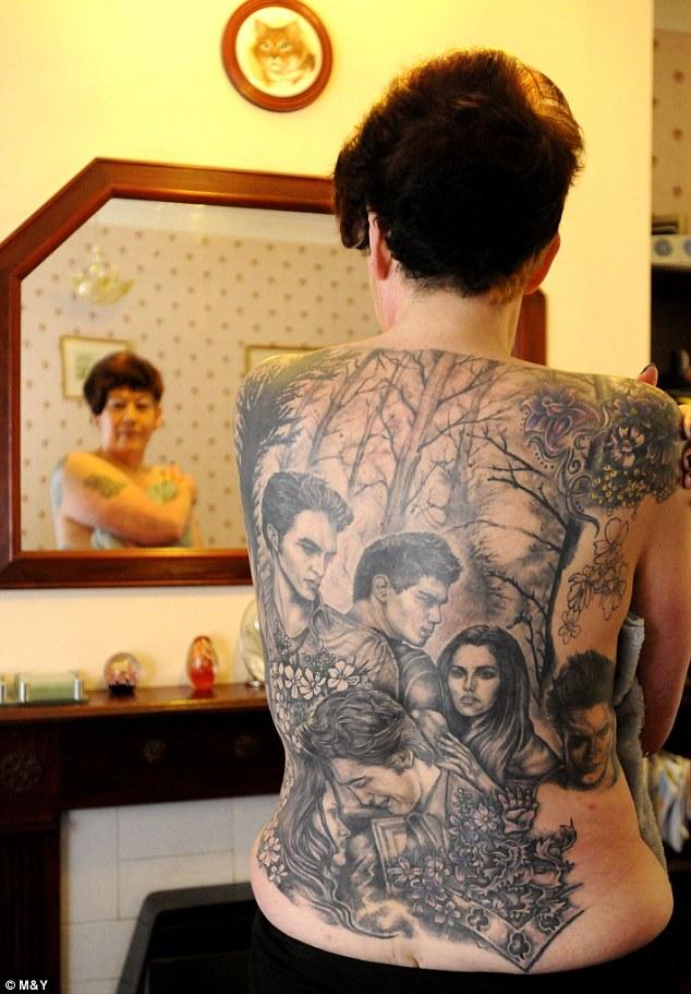 Cathy Ward Tattoo for Fandom