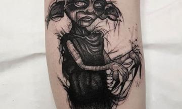 Edinburgh tattoo done by Shirley