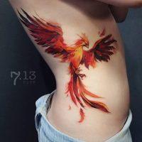 Феникс татуировки