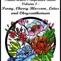 Peony, Cherry Blossom, Lotus and Chrysanthemum